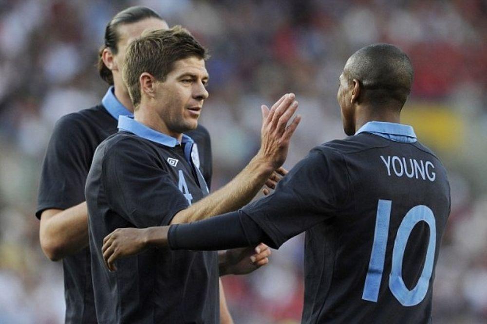 Euro 2012: Χαρούμενος για τον Γιανγκ ο Τζέραρντ