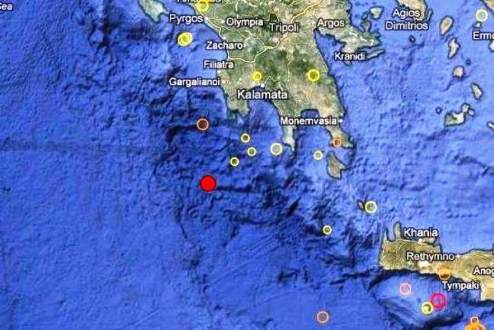 Σεισμός 3,0 Ρίχτερ νότια της Μεθώνης!