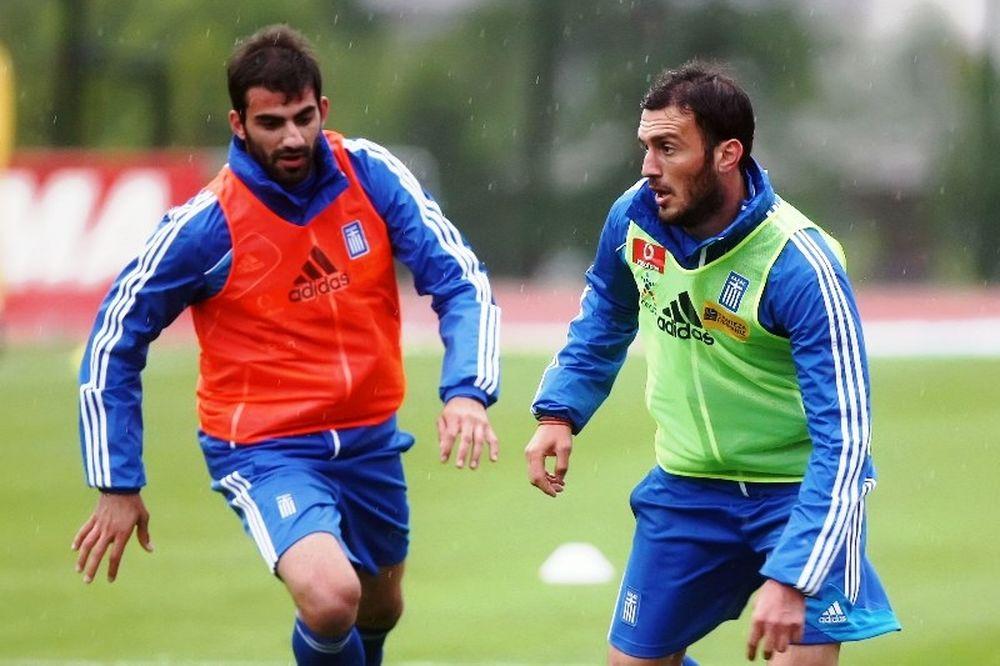 Euro 2012-Ελλάδα: Καλύτερα αισθάνεται ο Τοροσίδης