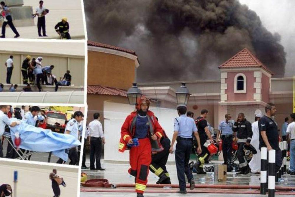 Κάηκαν 13 παιδιά σε παιδότοπο στο Κατάρ (photos)