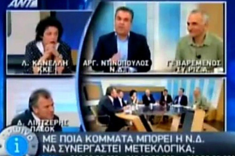 Καυγάς... on air για Κανέλλη και Ντινόπουλο (video)