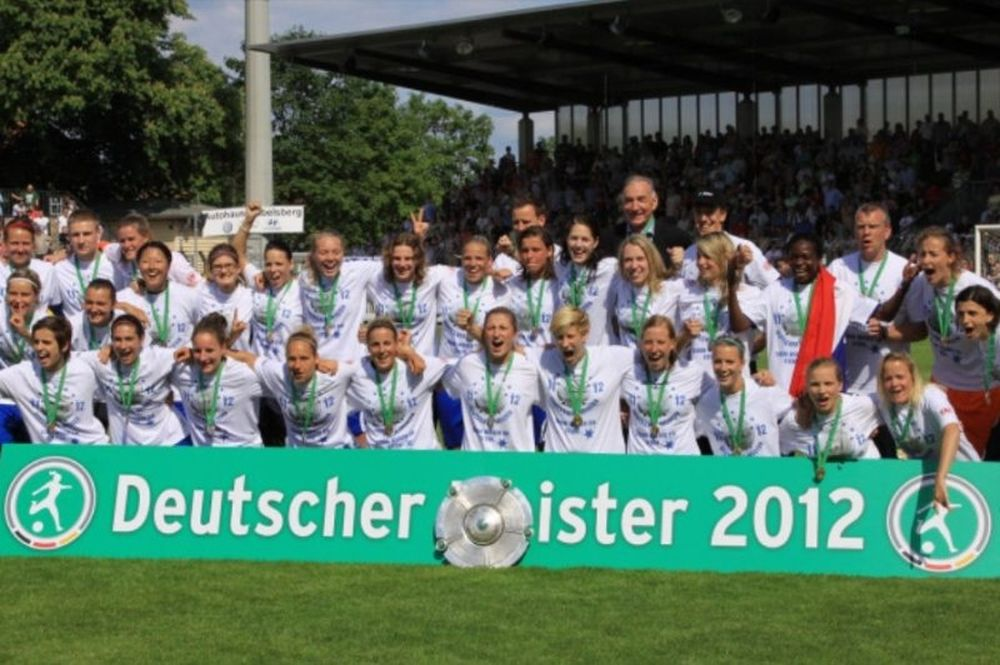Πρωταθλήτρια Γερμανίας η Πότσδαμ