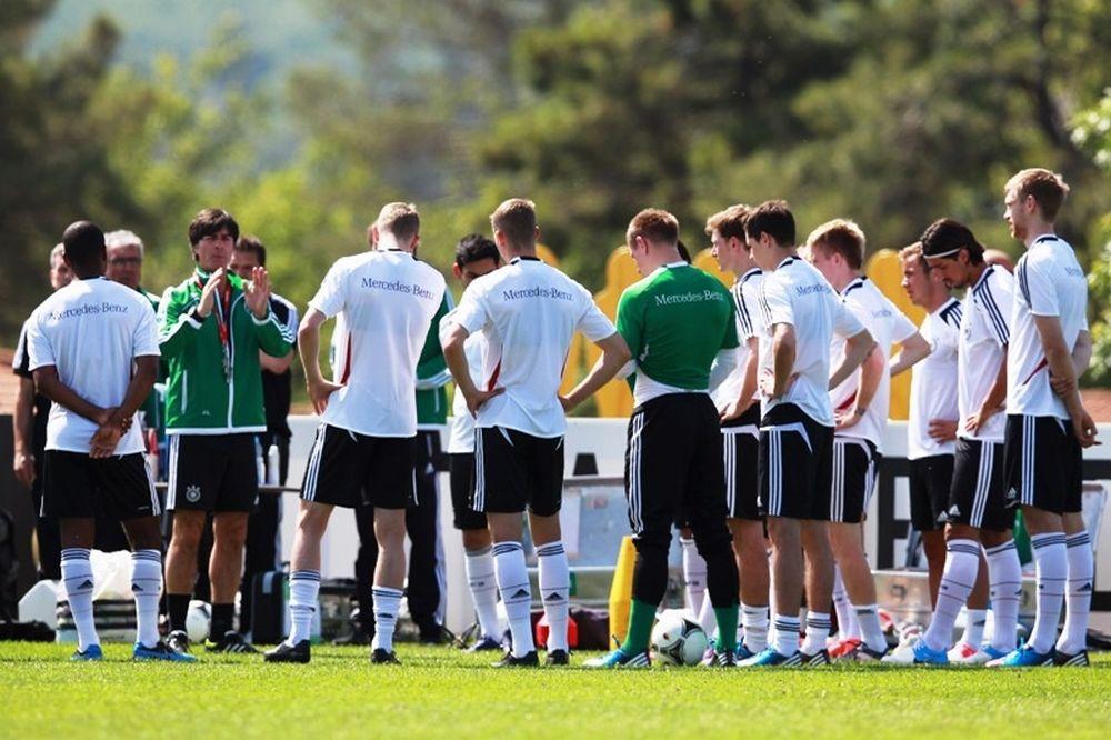 Euro 2012: Γερμανία: Πρόβα 11άδας ενόψει Πορτογαλίας