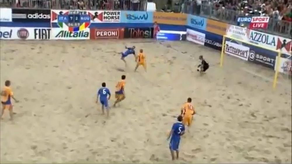 Γκολάρα και στο beach soccer! (video)