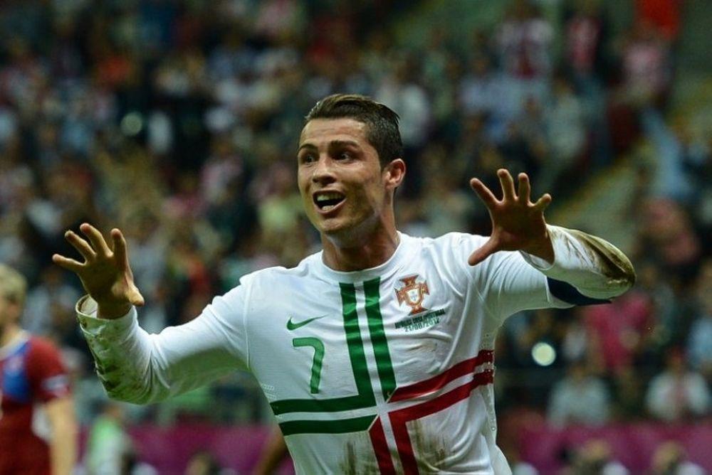 Euro 2012: Η πίεση δεν... αγγίζει τον Ρονάλντο!