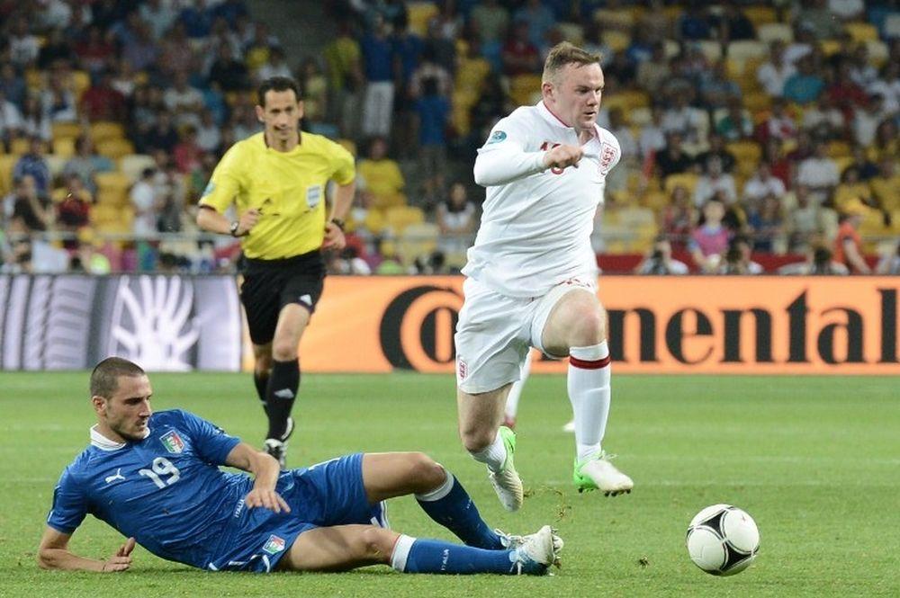 Euro 2012: Μπονούτσι: «Άφαντος ο Ρούνεϊ»