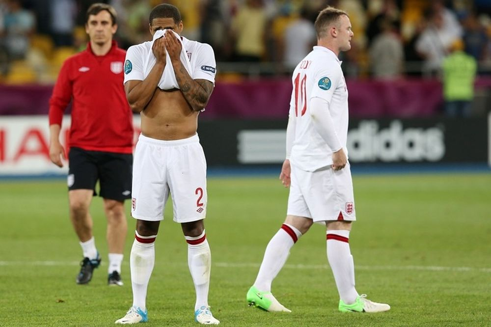 Euro 2012: Η... καταραμένη μέρα της Αγγλίας