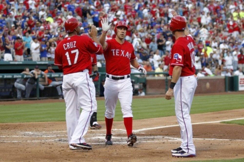 Δύο home runs ο David Murphy για τους Τέξας Ρέιντζερς