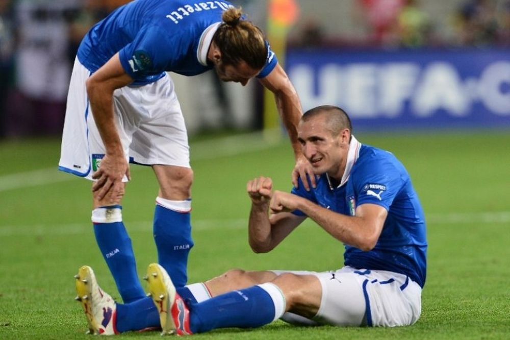 Euro 2012: Κιελίνι: «Φοβήθηκα πως θα χάσω το EURO»