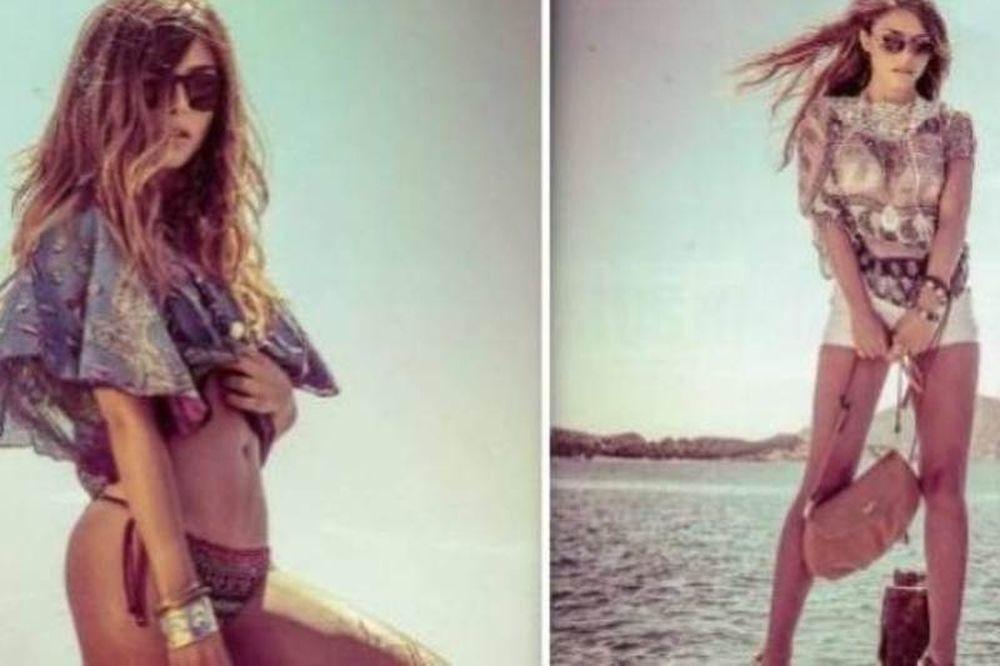 Η Ελευθερία Ελευθερίου ποζάρει ως σέξι μοντέλο (photos)