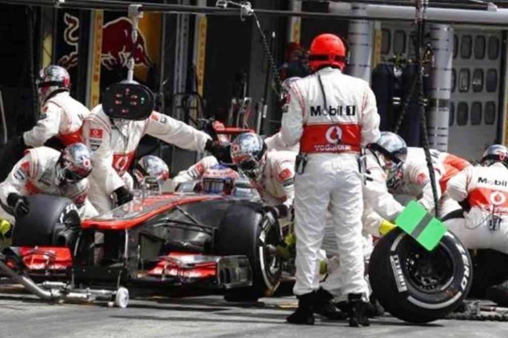 Ρεκόρ pit stop για τη McLaren