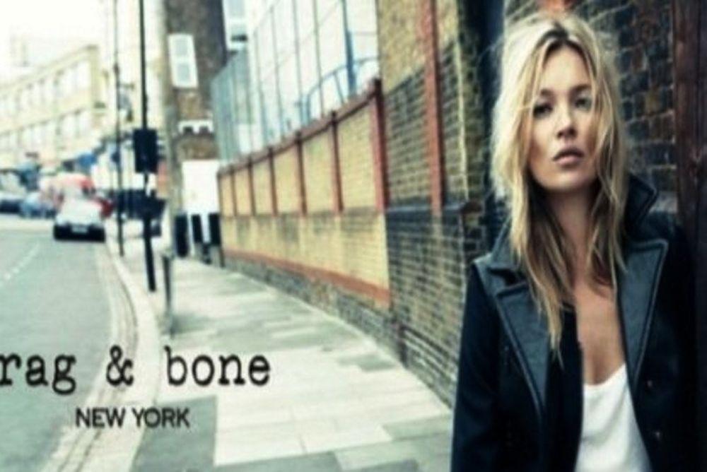 Η Kate Moss πρωταγωνιστεί στην πρώτη καμπάνια των Rag & Bone