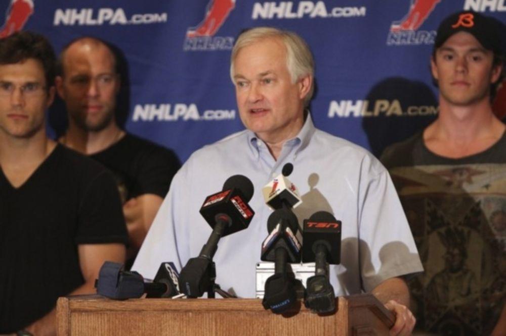 Το μπαλάκι στο NHLPA