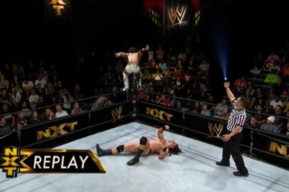 Σταμάτησε να… μιλά ο Drew McIntyre στο NXT