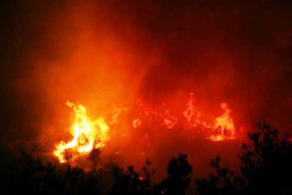Μαίνονται οι φωτιές σε Ζάκυνθο και Μεσσηνία