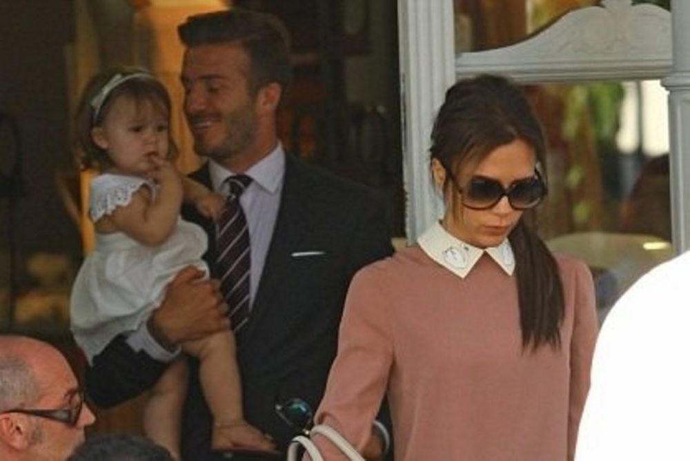 Οικογένεια Beckham: Δείπνο για τρεις!