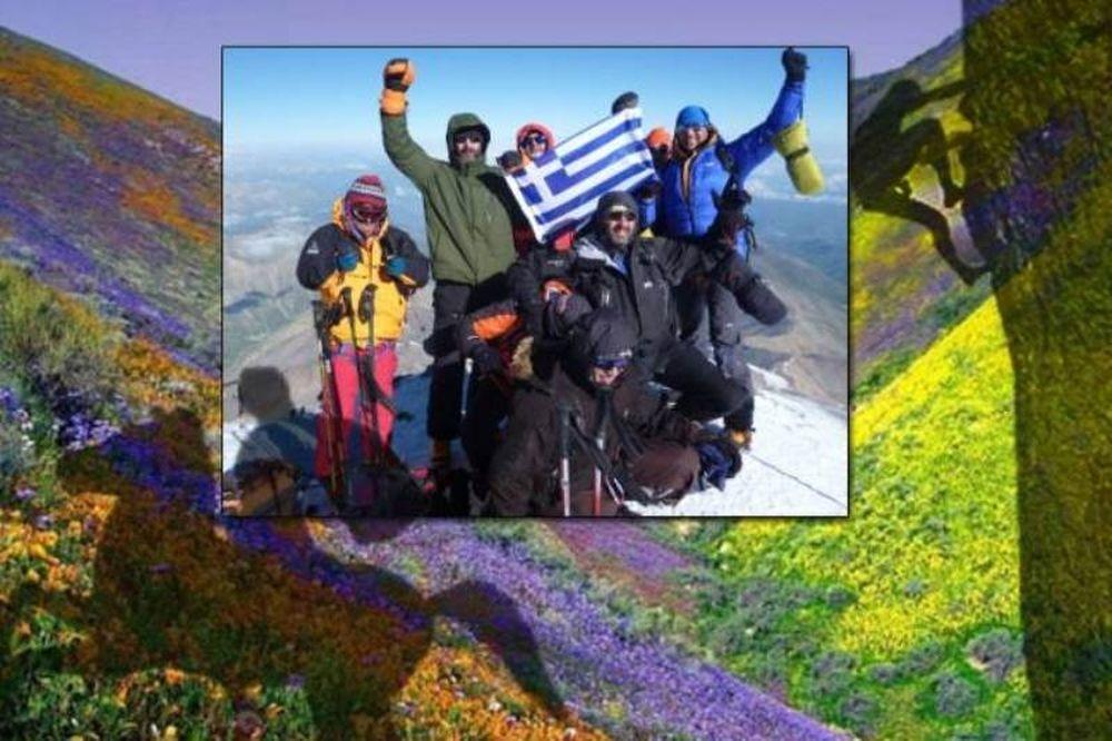Ορειβάτες στα… χνάρια του Μ. Αλεξάνδρου! (photos)