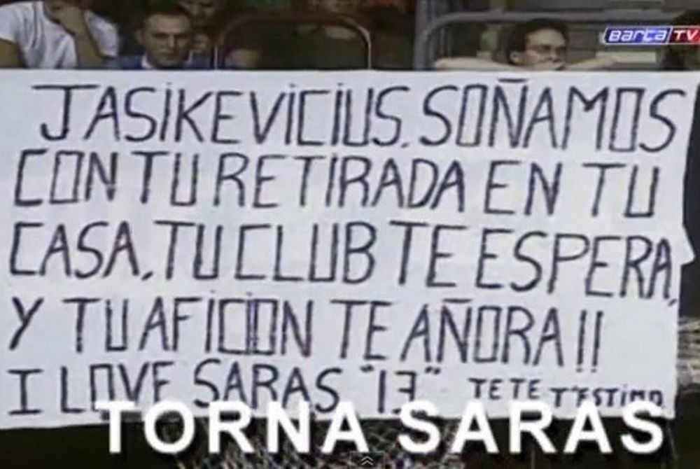 Το αφιερωματικό video της Μπαρτσελόνα για τον «Σάρας»
