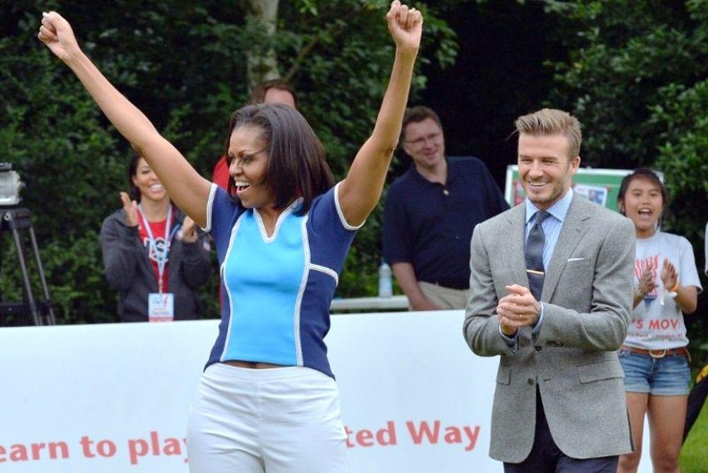 Ολυμπιακοί Αγώνες 2012: Στηρίζει τις ΗΠΑ η Μισέλ Ομπάμα (photos)