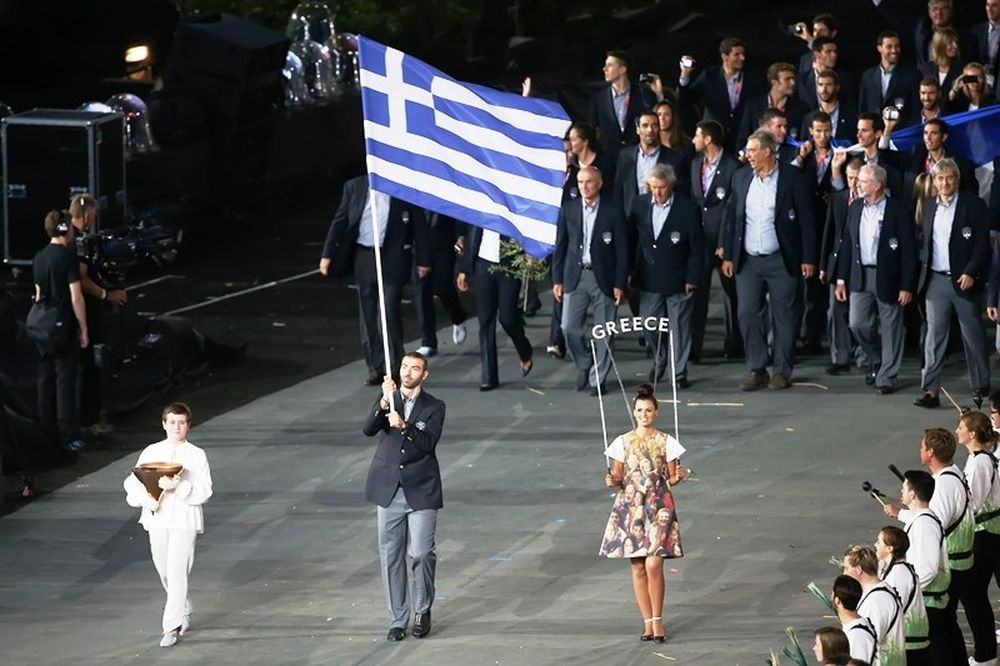 Ολυμπιακοί Αγώνες – Τελετή Έναρξης: Η είσοδος της Ελλάδας (photos)