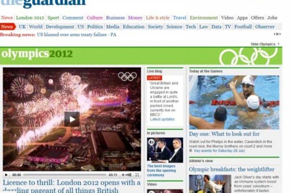 Ολυμπιακοί Αγώνες 2012: Ενθουσιασμένοι οι Βρετανοί με την τελετή έναρξης