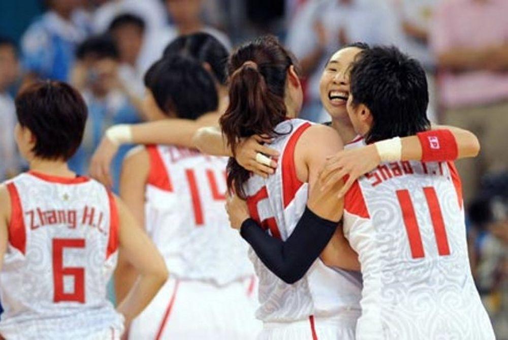 Ολυμπιακοί Αγώνες 2012: Γυναικείο μπάσκετ: «Σεφτέ» από την Κίνα