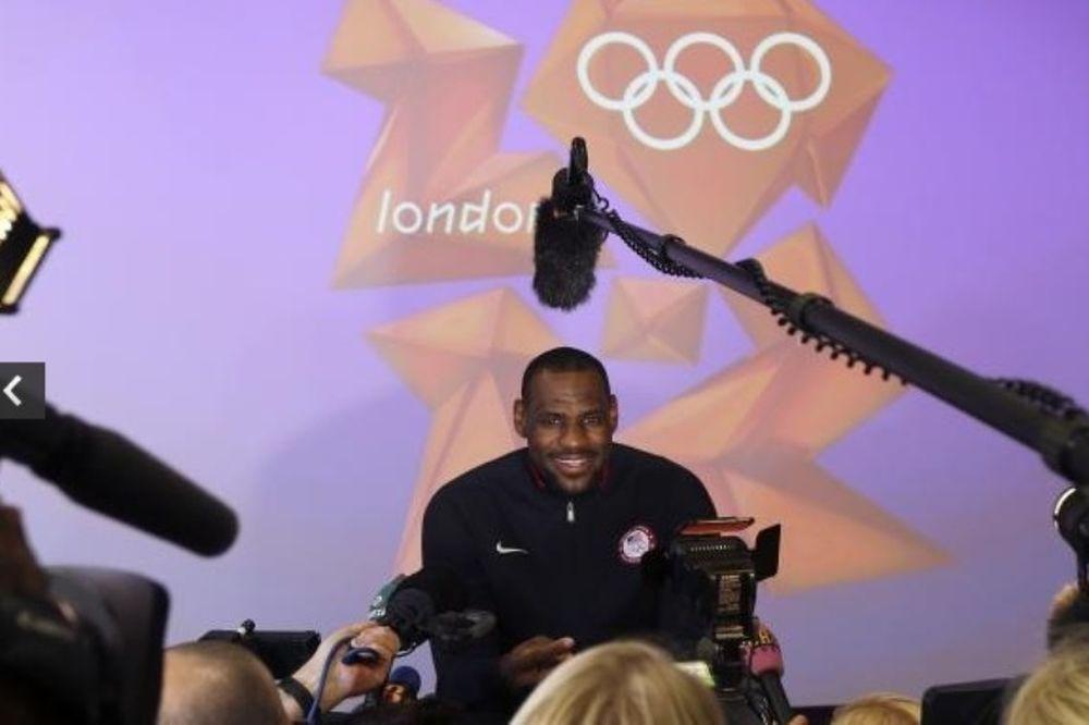 Λονδίνο 2012: Λεμπρόν: «Θα νικούσαμε την Dream Team!»
