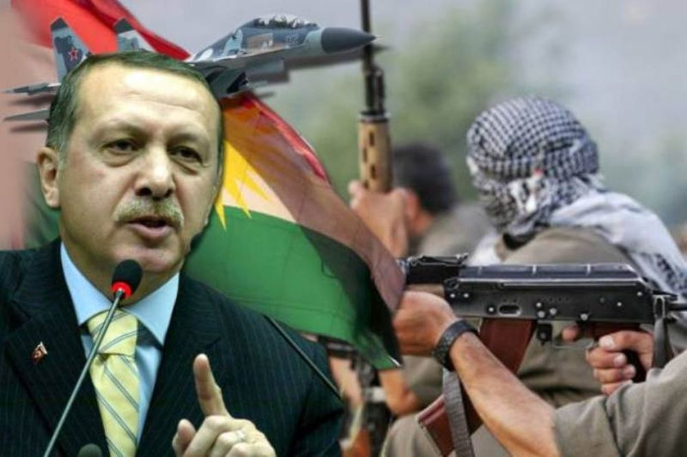 Νέα σκληρή προειδοποίηση Ερντογάν προς τους Κούρδους