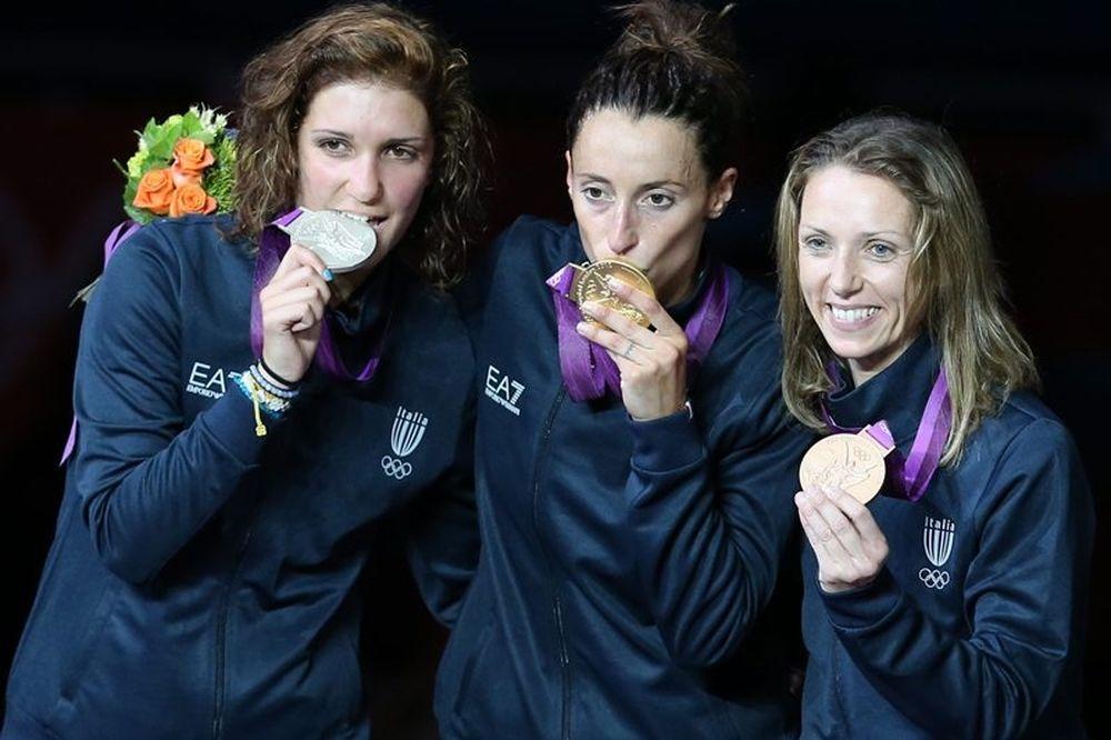 Ολυμπιακοί Αγώνες: Ιταλική υπόθεση το ξίφος ασκήσεων γυναικών