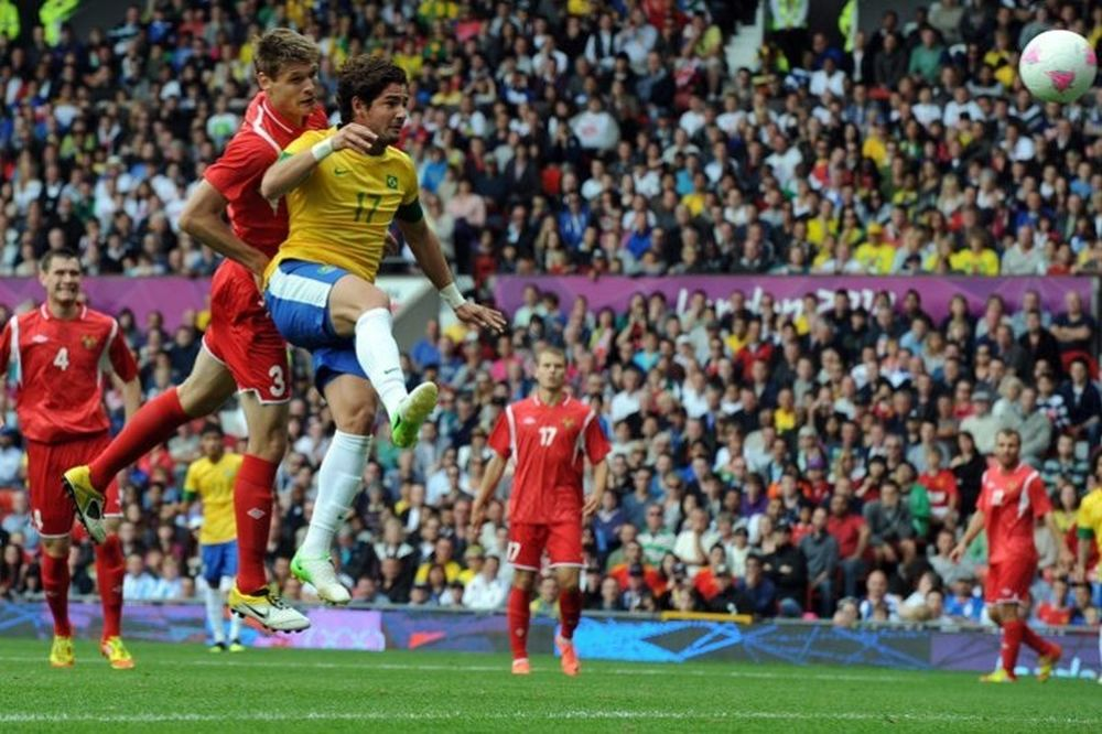 Λονδίνο 2012: Ποδόσφαιρο: Βραζιλία-Λευκορωσία 3-1 (video)