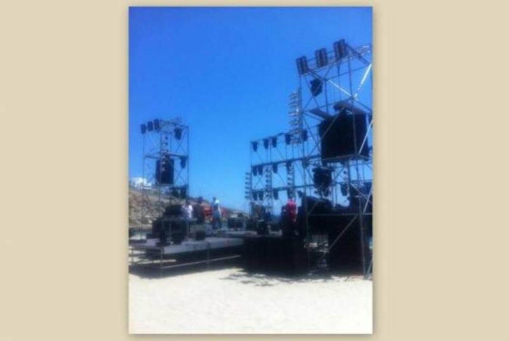 Η σκηνή που θα εμφανιστεί ο Ρουβάς στην Μύκονο (photos)