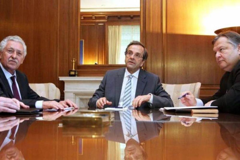 Κρίσιμη συνάντηση των πολιτικών αρχηγών
