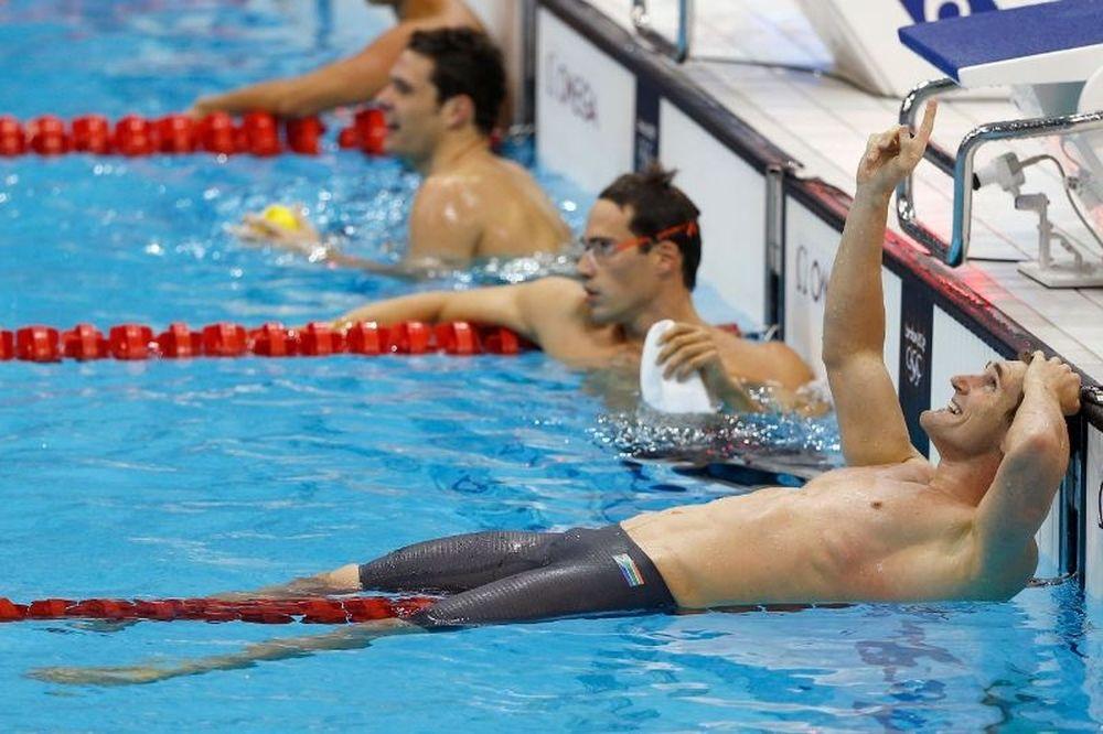 Oλυμπιακοί Αγώνες 2012: «Αφιερωμένο... εκεί ψηλά, στον Ντάλε Οεν» (photos)