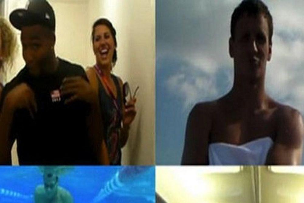 Ολυμπιακοί Αγώνες 2012: Οι κολυμβητές της Αμερικής σε ένα must-see βίντεο