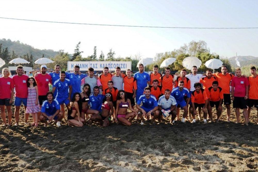 Στην Επανομή η τρίτη φάση του Beach Soccer 2012
