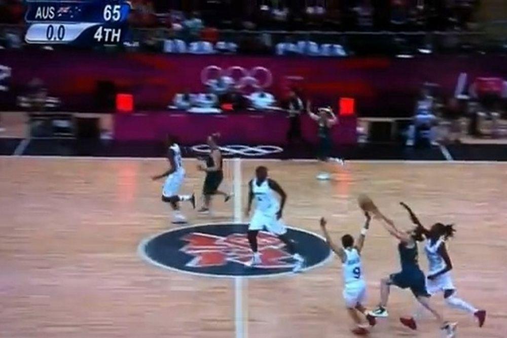 Ολυμπιακοί Αγώνες 2012-Μπάσκετ: Το απίστευτο τρίποντο της Σνελ! (video)