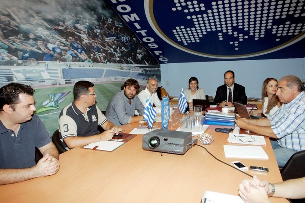 Έλεγχος της UEFA στο γήπεδο του Περιστερίου