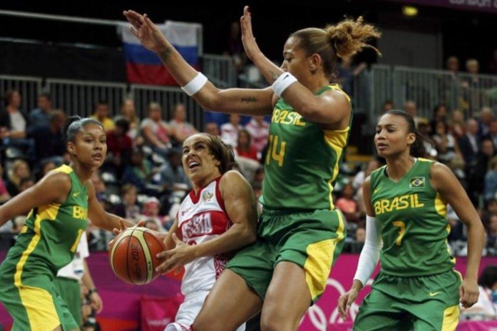 Ολυμπιακοί Αγώνες 2012 - Μπάσκετ: Νίκησε και τη Βραζιλία η Ρωσία