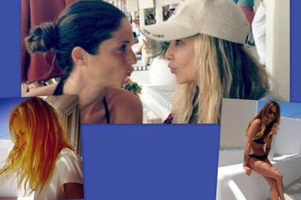 Άννα Βίσση-Σοφία Καρβέλα: Φωτογραφίες από τις διακοπές τους στη Μύκονο