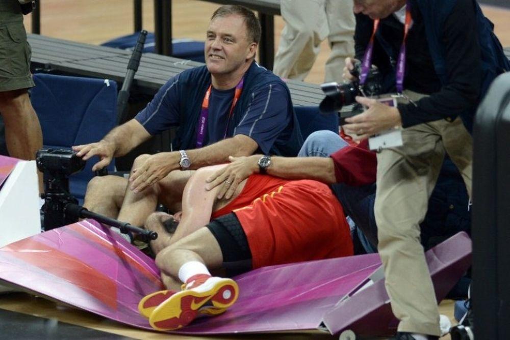 Λονδίνο 2012-Μπάσκετ: Τραυματίστηκε ο Ρούντι