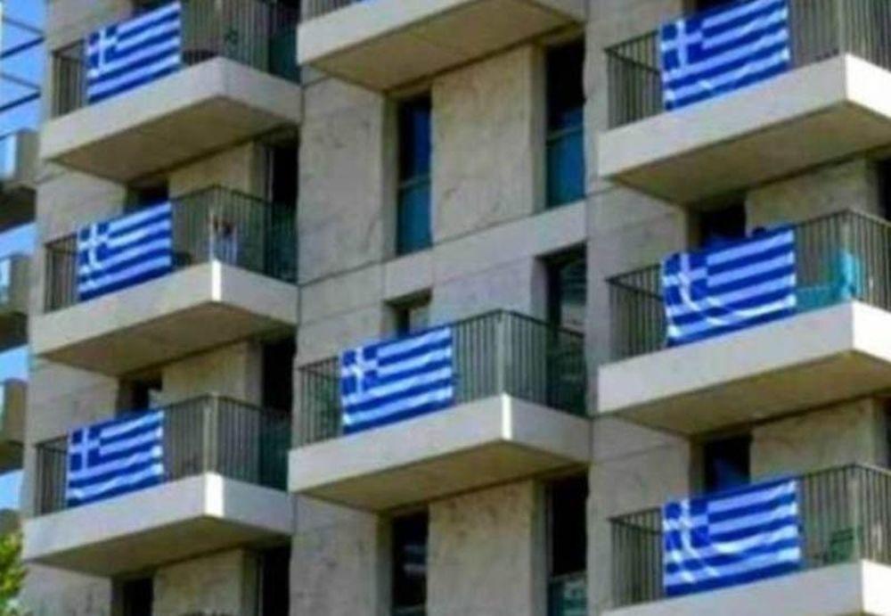 Ολυμπιακοί Αγώνες 2012: Το Ολυμπιακό χωριό γέμισε ελληνικές σημαίες