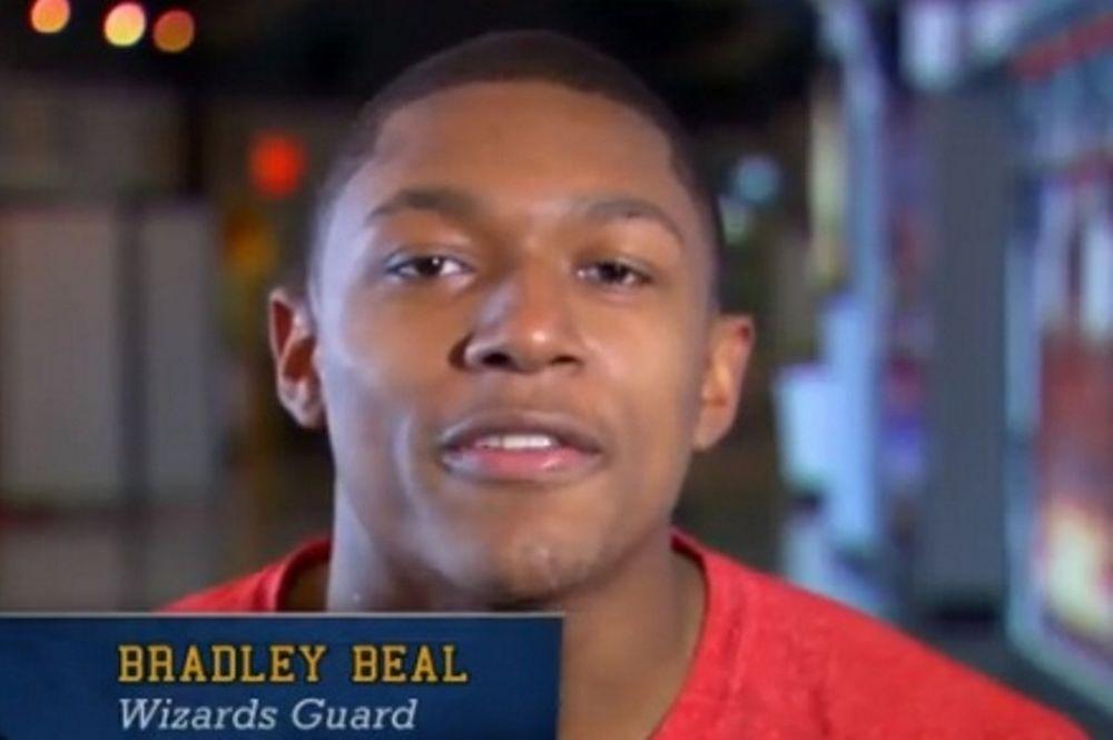 Το ΝΒΑ μας συστήνει τον ρούκι των Ουίζαρντς, Μπράντλεϊ Μπιλ (video)