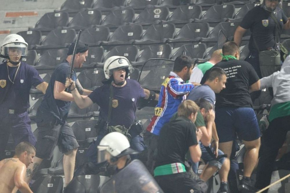 Συνελήφθησαν 7 οπαδοί της Ραπίντ Βιέννης