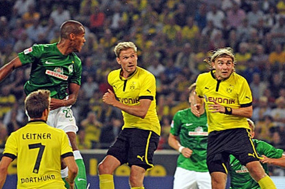 Με το δεξί η πρωταθλήτρια Ντόρτμουντ, 2-1 τη Βέρντερ (video)