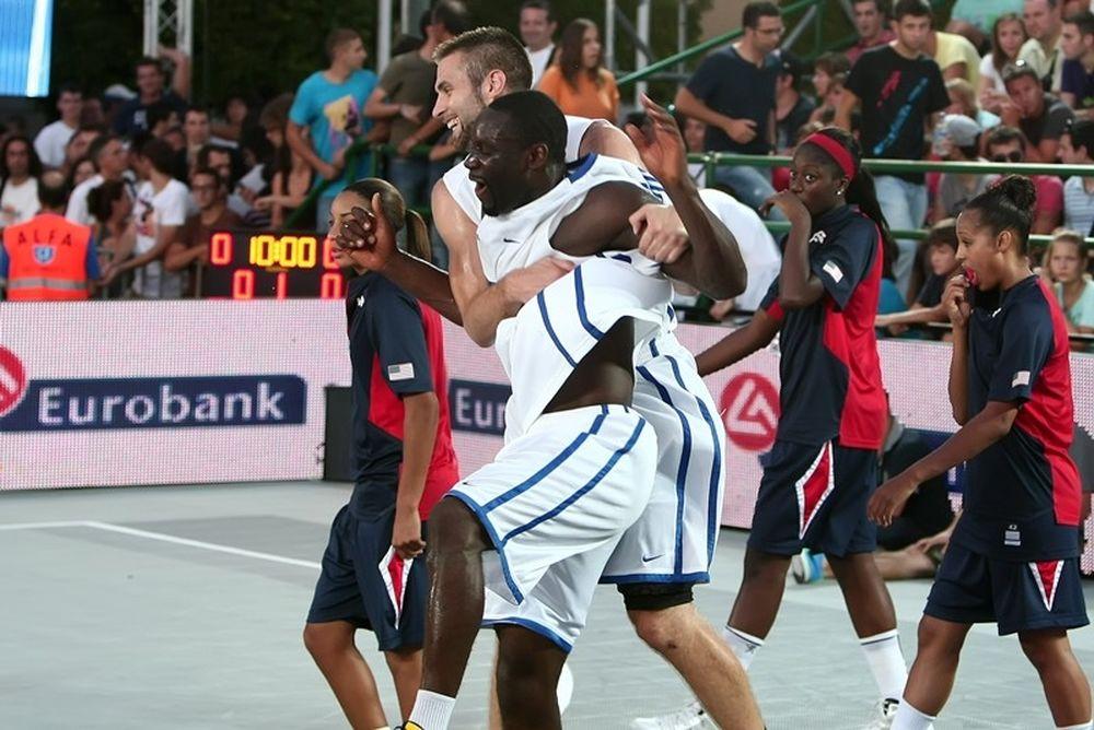 Σερβία και Γαλλία στον τελικό του 3Χ3