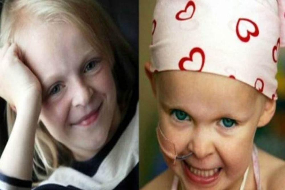9χρονη νίκησε 2 φορές στη μάχη με τον καρκίνο