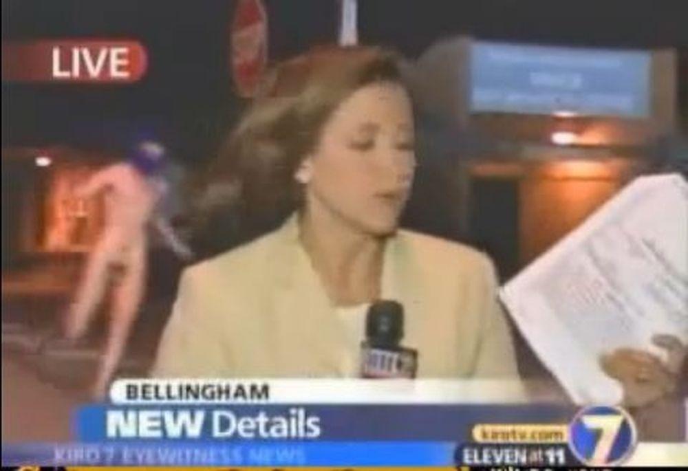 Συλλεκτικό: Δείτε το βίντεο του γυμνού εισβολέα στο CNN