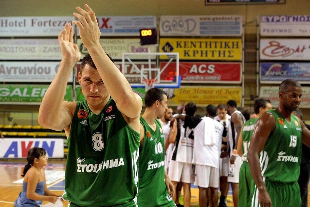Μασιούλις: «Το καλύτερο μπάσκετ που μπορούμε!» (video)
