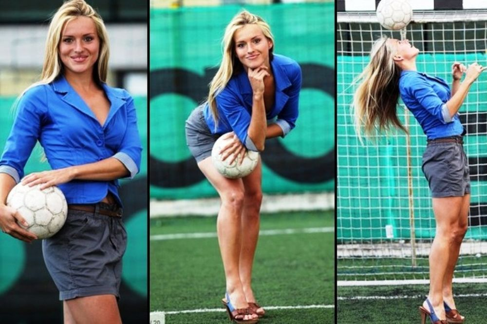 Ένα πρώην μοντέλο σε ρόλο προπονητή (photos)!