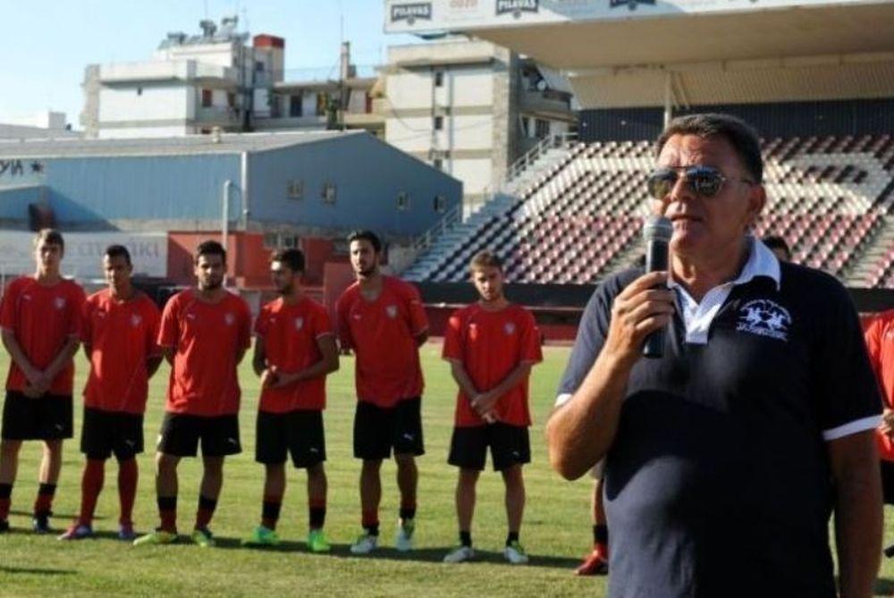 Κούγιας: «Θέλω αρσενικές συμπεριφορές στο γήπεδο»